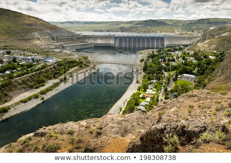 Grand Coulee Hydroelectric Dam Stock photo © skylight