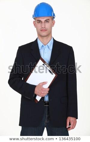 Popa olhando homem jovem seis Foto stock © photography33