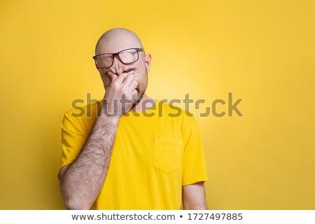 Man rubbing his eyes Stock photo © photography33