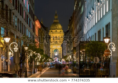 the ststephen basilica in budapest stock photo © jakatics