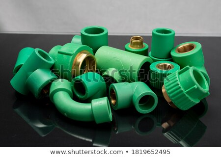 Stock photo: Group of PVC connection