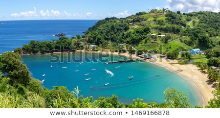 Parlatuvier Bay, Tobago Stock photo © phbcz