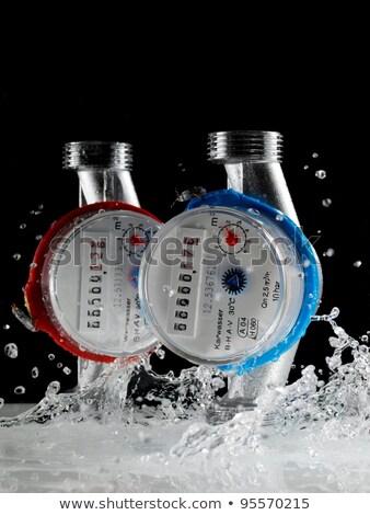 twee · water · zijaanzicht · witte · technologie - stockfoto © RuslanOmega