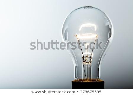 ampul · ışıklar · yukarı · mavi · pazarlama · elektrik - stok fotoğraf © Ariusz