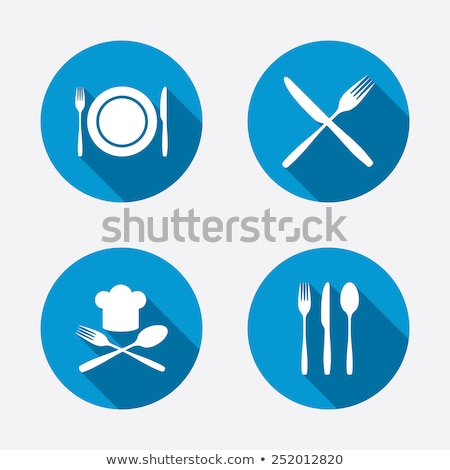 cook token and plate Stock photo © drizzd