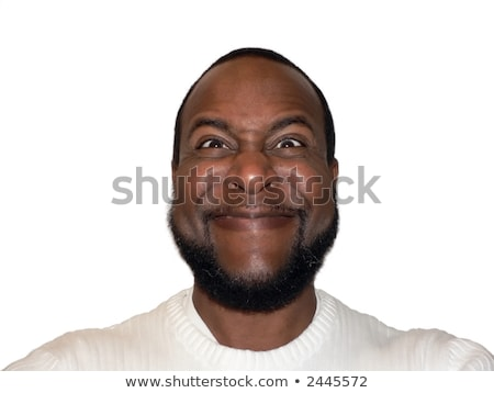 facial expression - funny sadistic grin stock photo © tdoes