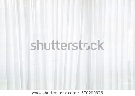 Curtain on white Stock photo © ixstudio