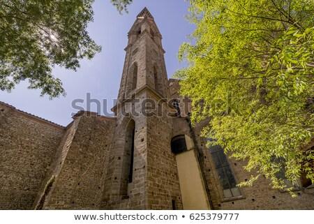 Bazilika mikulás Florence Olaszország észak istentisztelet Stock fotó © Photooiasson