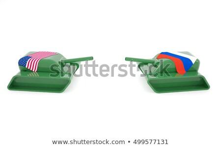 world war two battle tank firing cannon Stock photo © patrimonio