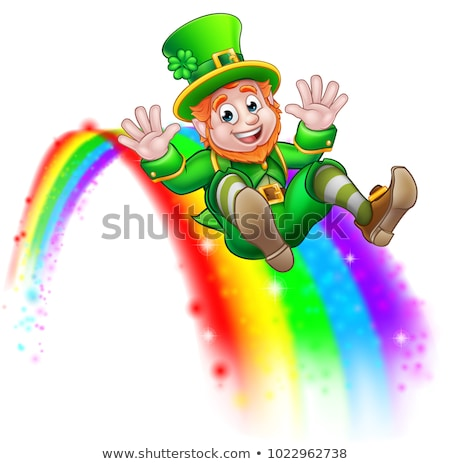 Gold at the end of rainbow Stock photo © Koufax73