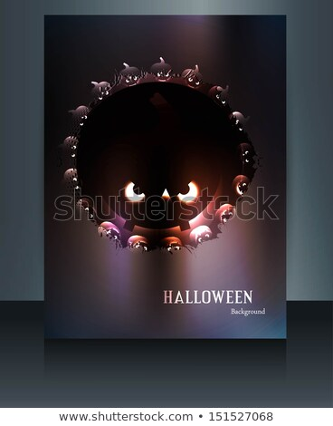 дома · вампир · Хэллоуин · ночь · демонический · двери - Сток-фото © bharat