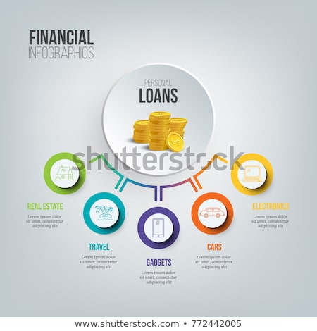 Mortgage and credit concept. Stock photo © hasloo