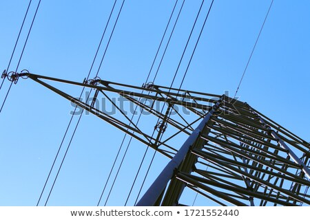 pylon with sun Stock photo © w20er