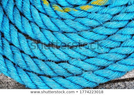 cove of blue marine rope closeup Stock photo © Mikko