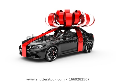 red present in a car stock photo © ssuaphoto