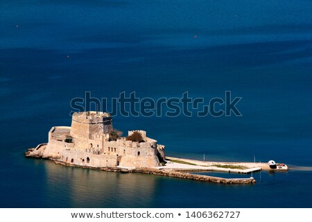 View of The If Castle. The If Castle located on a tiny island a  Stock photo © amok