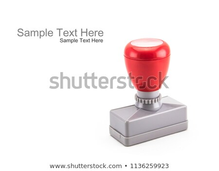 waterproof rubber stamp stock photo © simo988