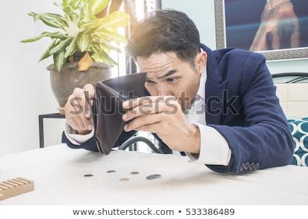 hands - broke businessman Stock photo © dgilder