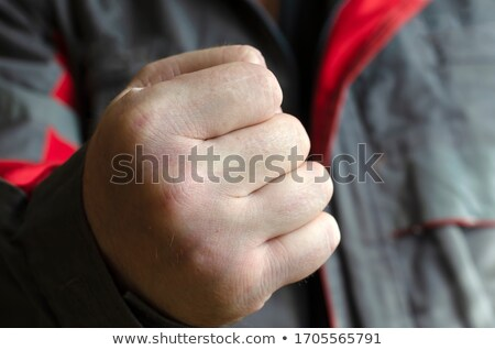 Angry guy, fists up Stock photo © ichiosea