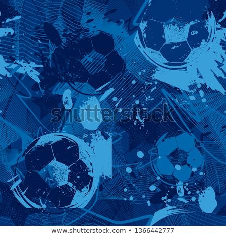 Dalga futbol futbol dizayn sanat takım Stok fotoğraf © rioillustrator