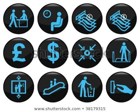 Libra símbolo moneda inflación financiar intercambio Foto stock © stevanovicigor