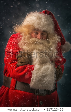 Santa Claus is feeling very cold Stock photo © HASLOO