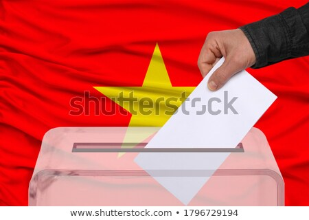 Ballot box Vietnam Stock photo © Ustofre9