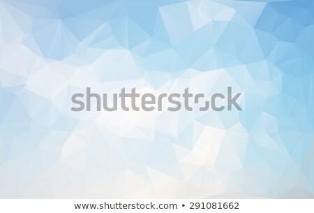 Bleu beige résumé géométrique faible style Photo stock © mcherevan