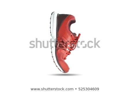 Red sport shoe isolated on the white background Stock photo © tetkoren