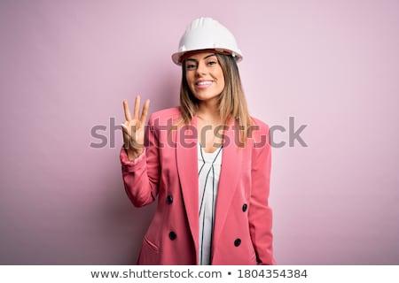 bruna · signora · indossare · sexy · costume · da · bagno - foto d'archivio © acidgrey