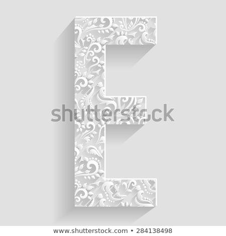 szimbólum · vektor · virágmintás · meghívó · kártyák · dekoratív - stock fotó © designer_things