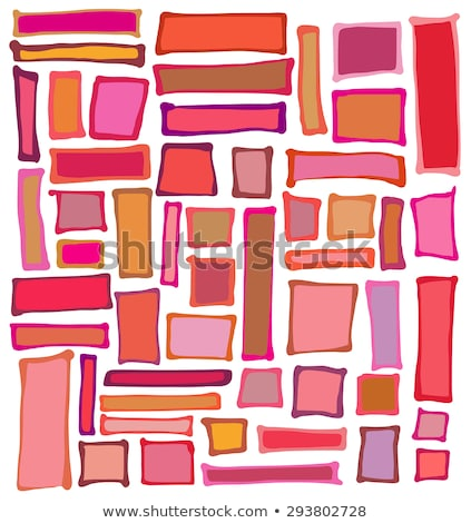 Líquido retângulo praça formas vermelho rosa Foto stock © Melvin07