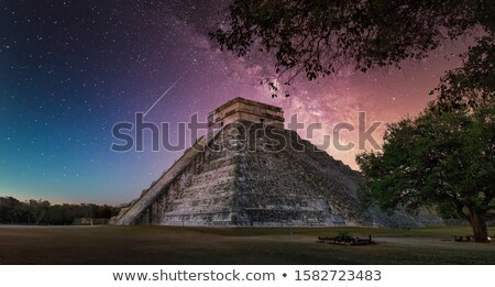 Ancient Mayan Ruins Stock photo © AlienCat