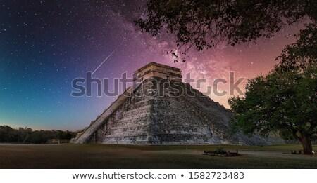 tempel · kolommen · zonsondergang · licht · 3d · render · ontwerp - stockfoto © aliencat