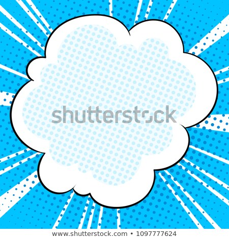 Realistic illustration of blue abstract stripped background Stock photo © smeagorl
