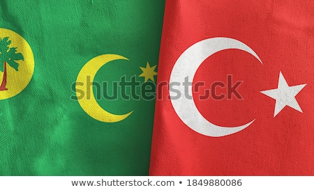 Turkey and Cocos (Keeling) Islands Flags  Stock photo © Istanbul2009