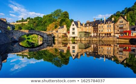 Frankrijk · historisch · centrum · heuvel · stad - stockfoto © smartin69