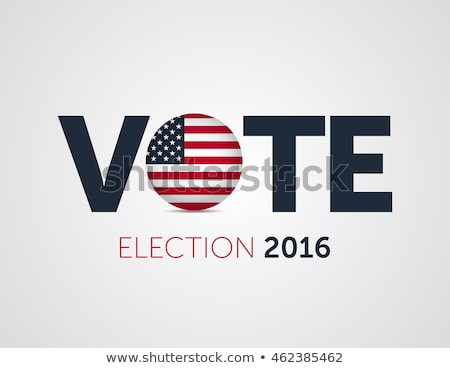 Election 2016 graphics Stock photo © mikemcd