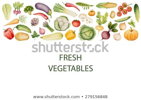 succo · verdura · due · colorato · disegno - foto d'archivio © conceptcafe