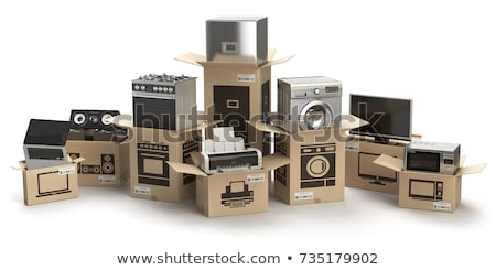 Sale of Household Appliances Laptop Stock photo © robuart