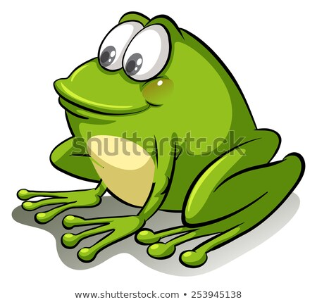 A frog going with the flow Stock photo © bluering