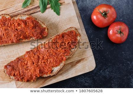хлеб томатный все зерна растительное оранжевый Сток-фото © Digifoodstock
