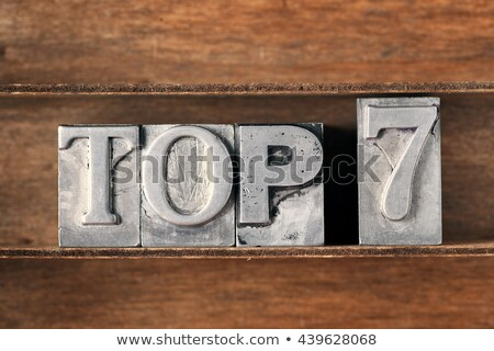 Top 7 Stock photo © Oakozhan