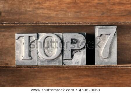 top 7 stock photo © oakozhan