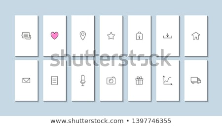 Mail icon with highlight Stock photo © Oakozhan