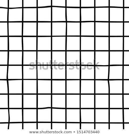 vector seamless black and white hand drawn checker lines pattern stock photo © creatorsclub