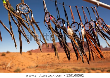 Native american Indian in the desert Stock photo © adrenalina