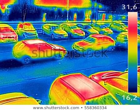 ısıtma · görüntü · kızılötesi · kamera · teknoloji - stok fotoğraf © smuki