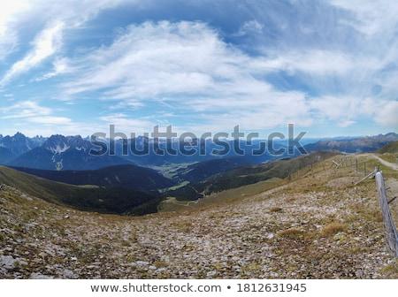 alpen · Italië · Europa · hemel · zomer · bergen - stockfoto © val_th