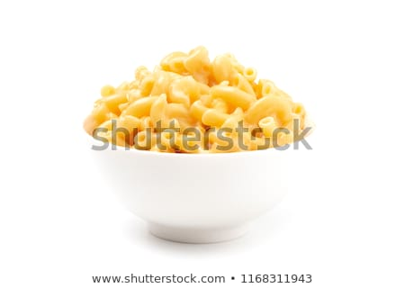 Mac · kaas · macaroni · individueel · schotel · brood - stockfoto © keko64